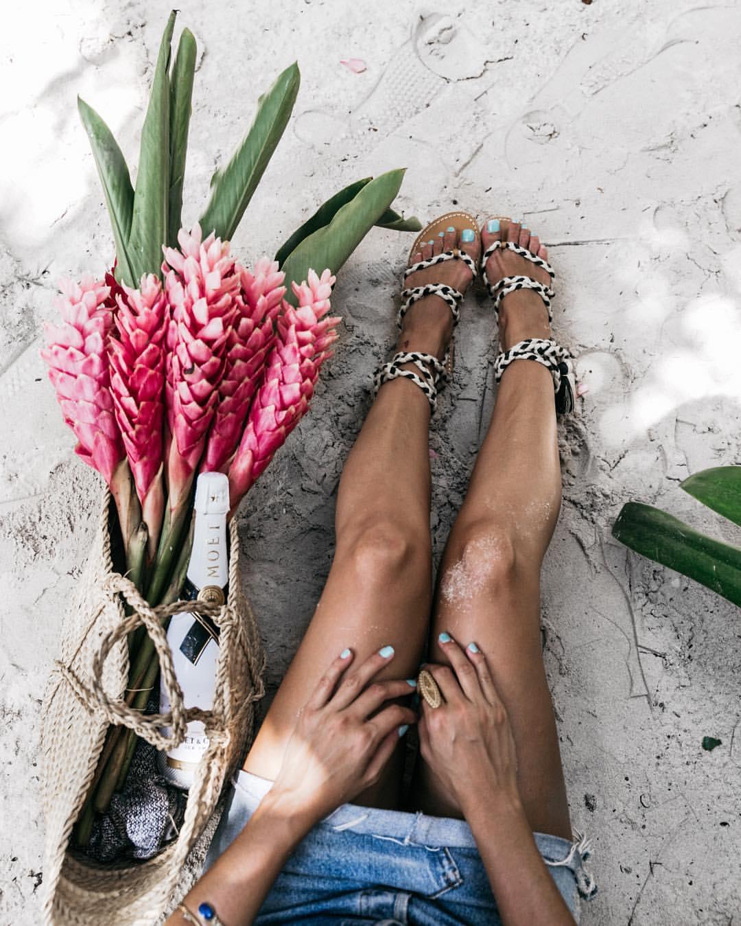 Traumhaft schöne Beine